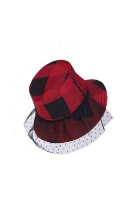 TARTAN BUCKET HAT