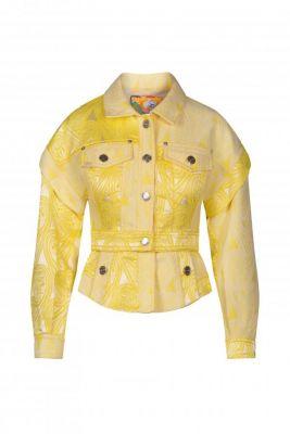 Chaqueta Paisley amarillo