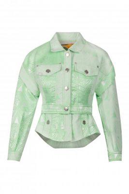 Chaqueta Paisley Verde