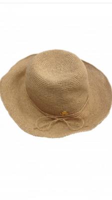x Sombrero cuerdita beige